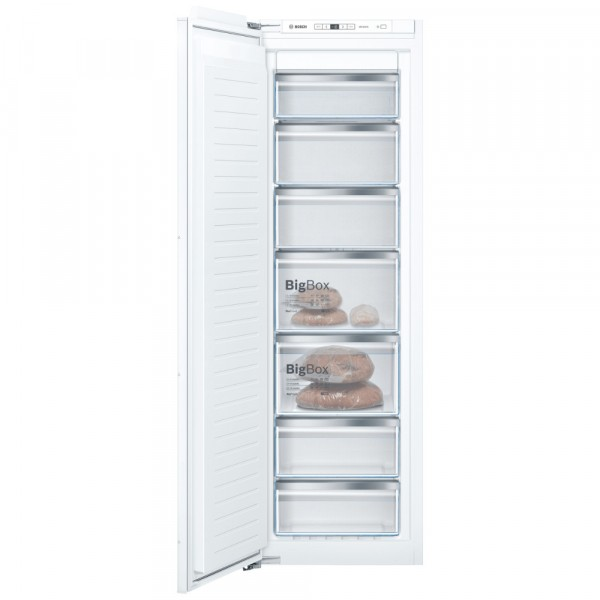 Bosch GIN81AEF0G Frost Free Built In Tall Freezer