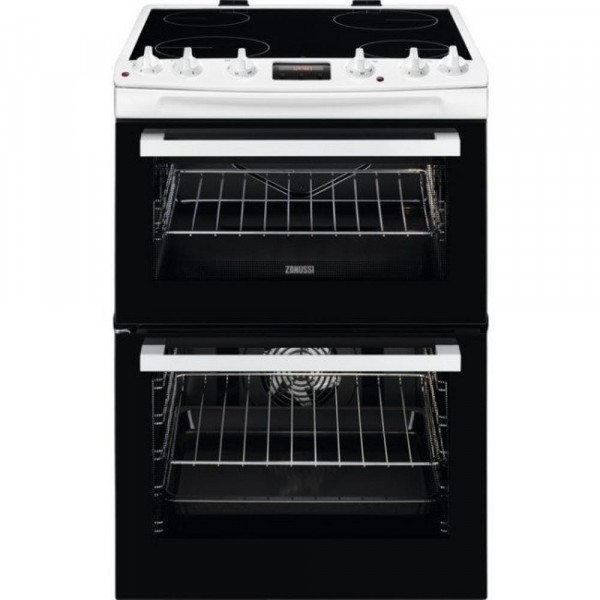 Zanussi ZCV66078WA - 60cm Electric Cooker