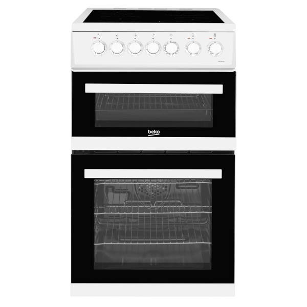 Beko EDVC503W - 50cm Electric Cooker