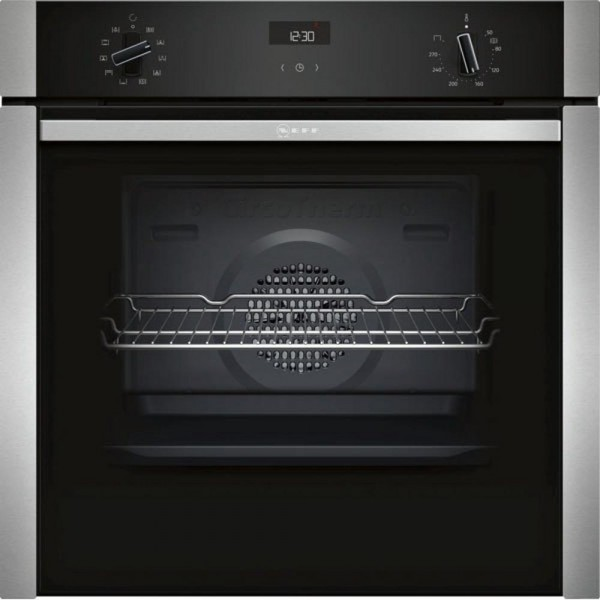 Neff B3ACE4HNOB - Built In Single Electric Oven