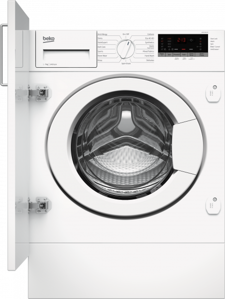 Beko WTIK74151F 7kg Integrated Washing Machine