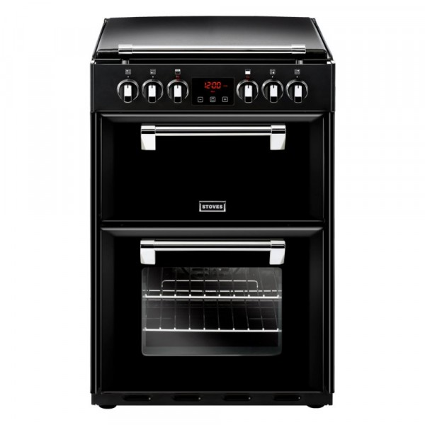 Stoves Richmond 600E Black Electric Cooker
