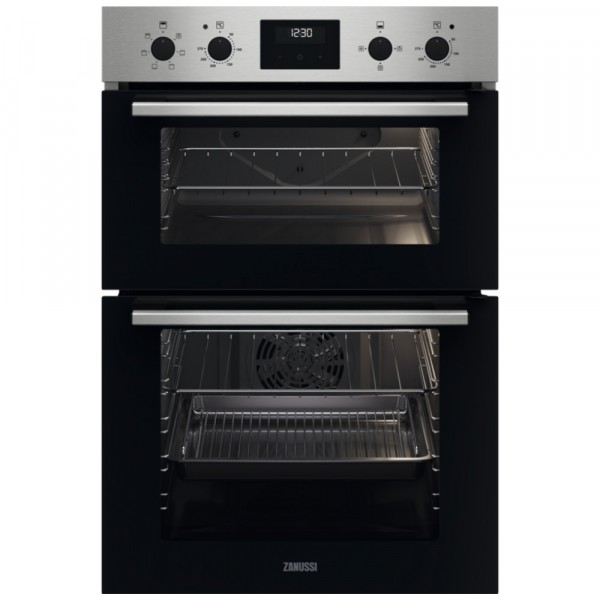 Zanussi ZKCXL3X1 Built In Electric Double Oven