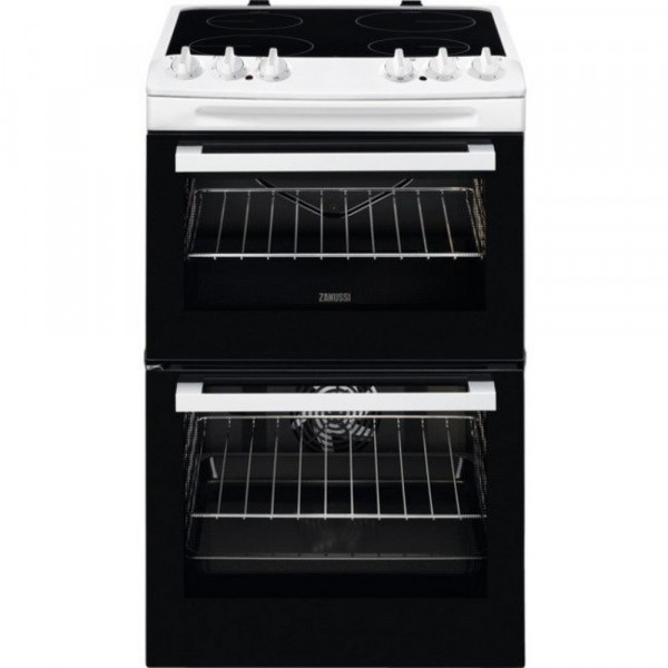 Zanussi ZCV46050WA - 55cm Electric Cooker