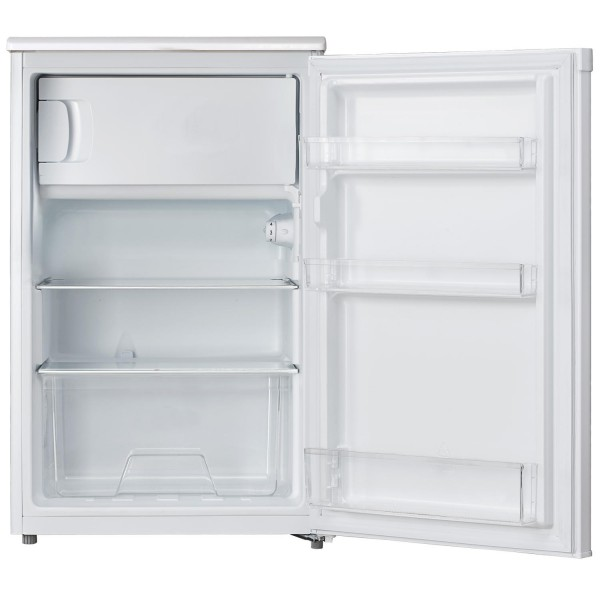 Lec R5017W - 50cm Fridge With Ice Box