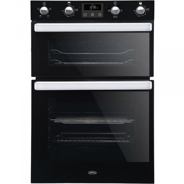 Belling BI902FPBLK Built In Electric Double Oven