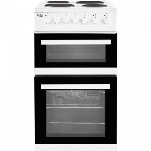 Beko EDP503W 50cm Electric Double Oven Cooker