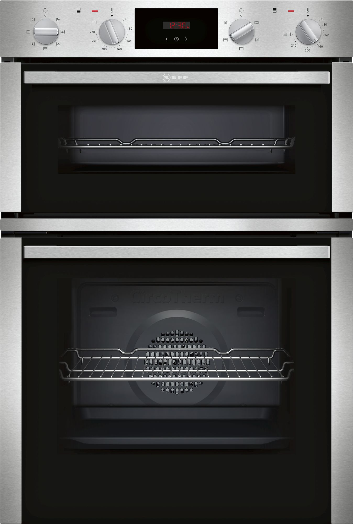 Neff U1dcc1bn0b Built In Electric Double Oven In Stainless
