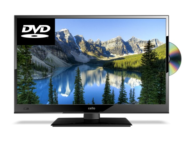 Cello C22230ft2 22 Full Hd Tv With Built In Dvd Player In Black G