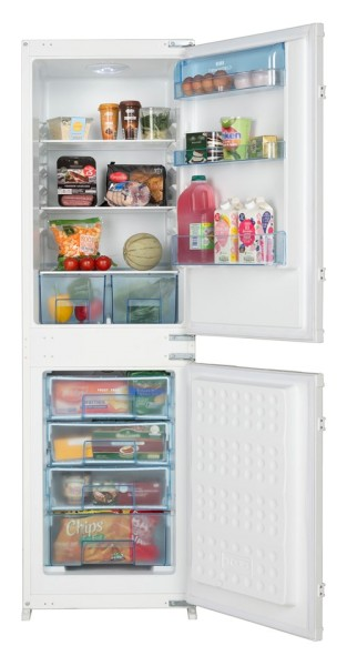 New World NW5050FF Built-In Frost Free Fridge Freezer