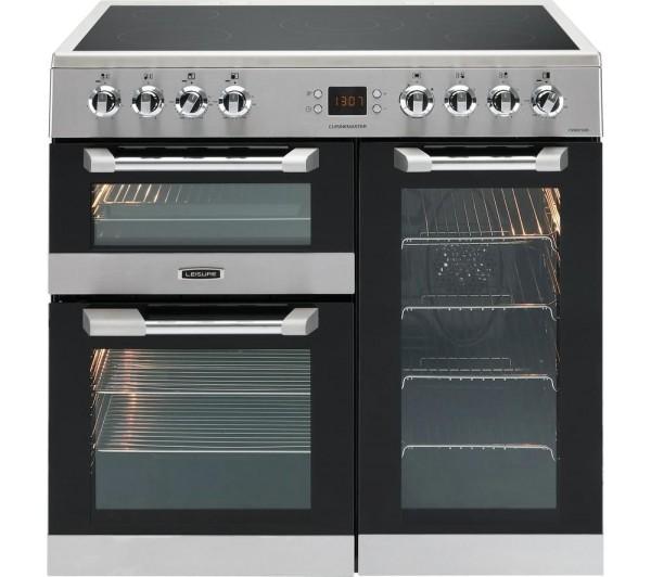 Leisure Cs90c530x Cuisinemaster 90cm Wide Range Cooker In