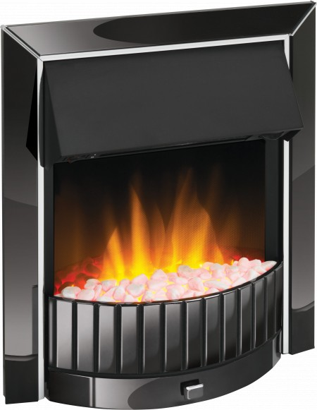 Dimplex DLS20BN-LED Delius Black Nickel Inset Optiflame Fire