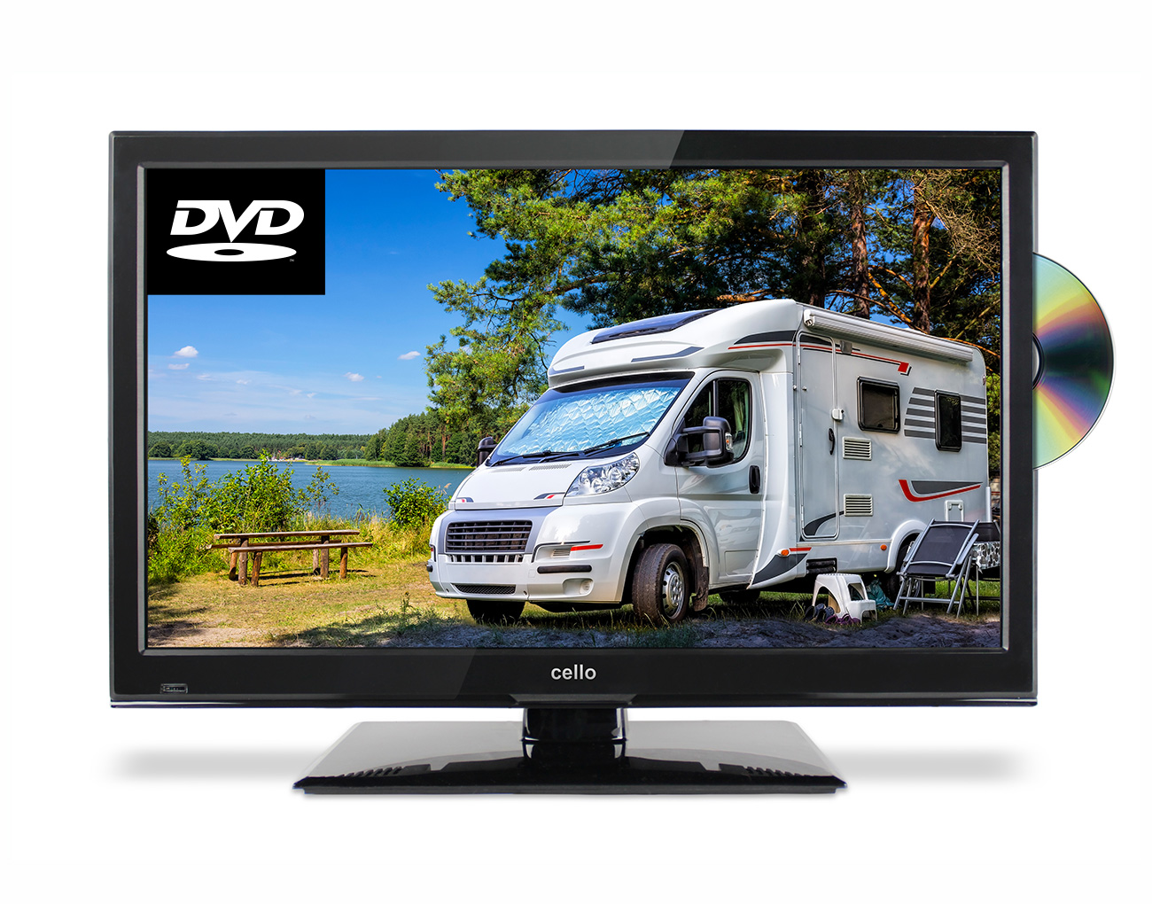 Cello C22230f 22 Traveller Tv With Built In Dvd Player G Craggs Ltd