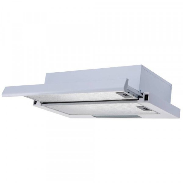 60cm Slim Telescopic Cooker Hood In Stainless Steel