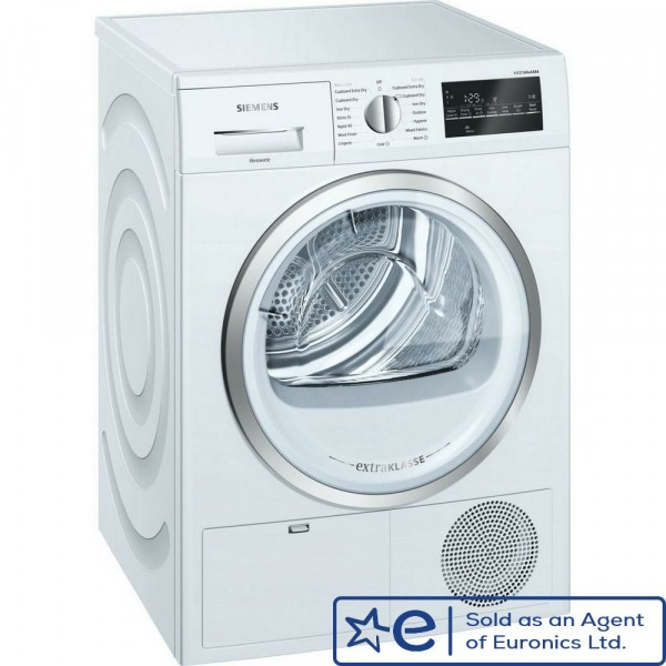 9kg B Energy Sensor Condenser Tumble Dryer In White