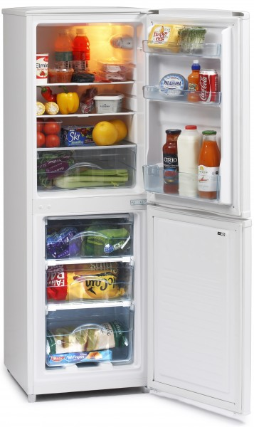 48cm Wide, 145cm Tall Static Fridge Freezer