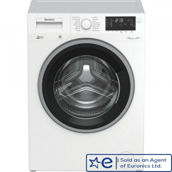 9kg 1400rpm A+++ Washing Machine In White