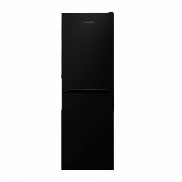 166cm Tall 54cm Wide Frost Free Fridge Freezer In Black