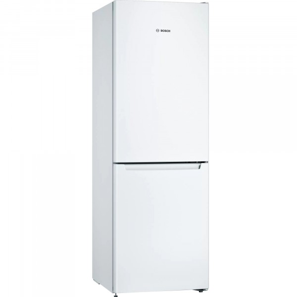 60cm Wide No Frost Fridge Freezer In White