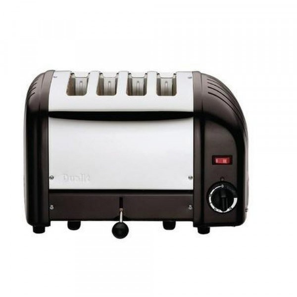 4 Slice Toaster With Black Ends
