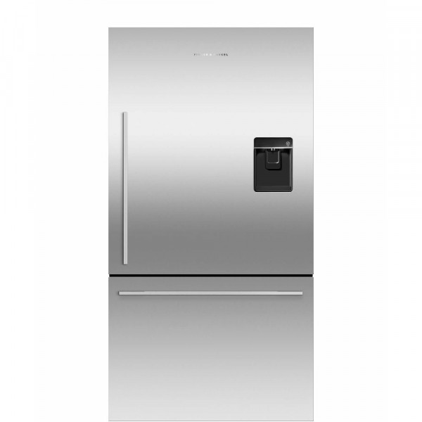 79cm Wide Plumbed Door And Drawer Fridge Freezer In Stainless
