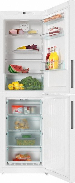 60cm Wide 2m Tall Frost Free Fridge Freezer In White