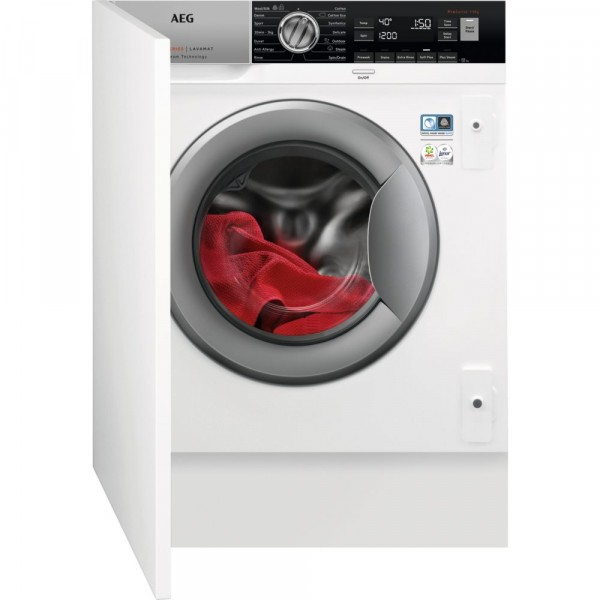 8kg 1400rpm A+++ Integrated Washing Machine
