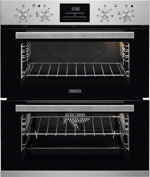 Built Under Double Electric Oven in Stainless Steel