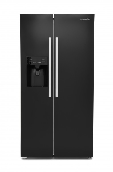 90cm American Frost Free Fridge Freezer Plumbed Ice And Water