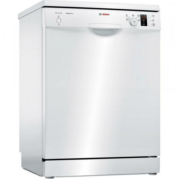 12 Place Setting 4 Program Freestanding Dishwasher in White