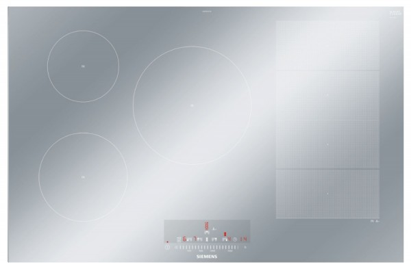 812mm 5 Zone Flex Induction Hob with Stainless Steel Side Trim