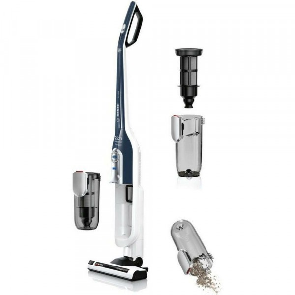 Cordless Upright Vacuum With 60mins Run Time In White