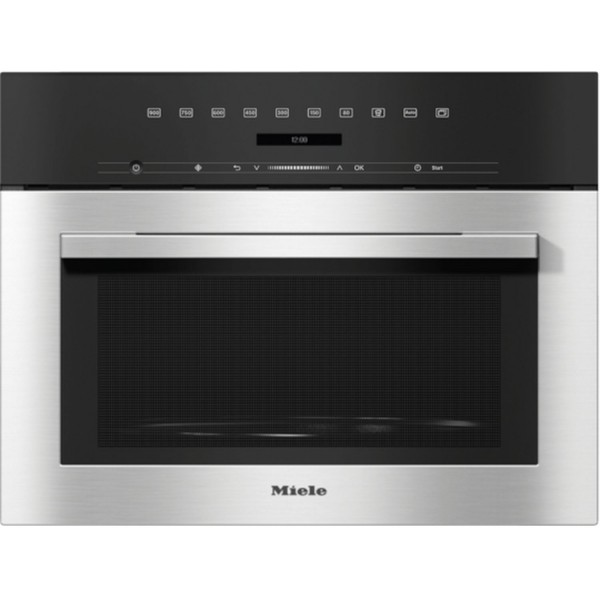 45cm Integrated 900w Compact Microwave In Stainless Steel