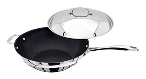 30cm Non-Stick Wok With Lid