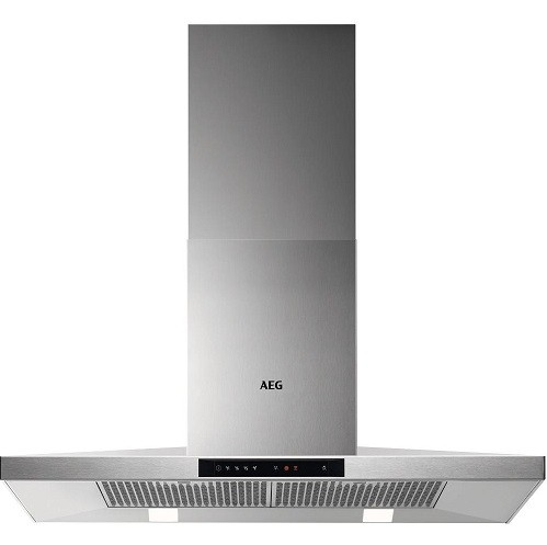 Touch Control Chimney Hood in Stainless Steel - A Efficiency