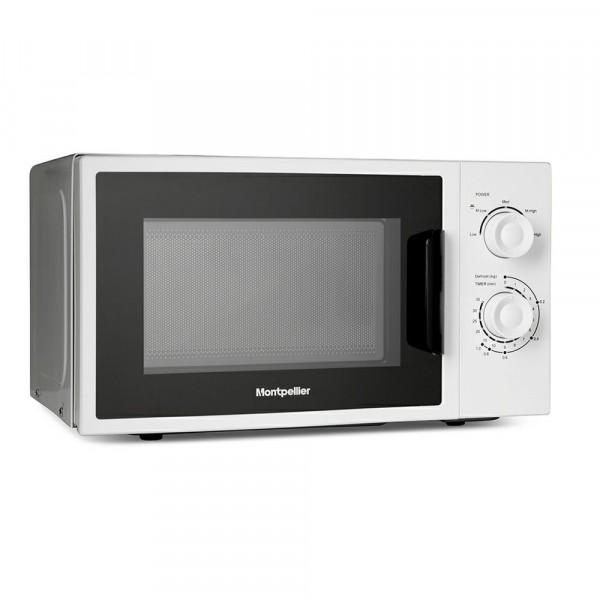 20ltr 700w Microwave In White