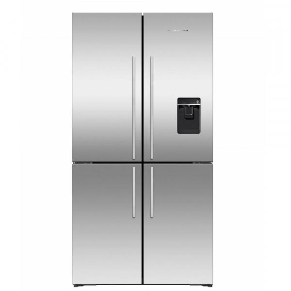 4 Door 905mm Wide 496l Capacity Fridge Freezer With Ice And Water