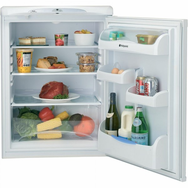 60cm Wide 146ltr Under Counter Larder Fridge In White
