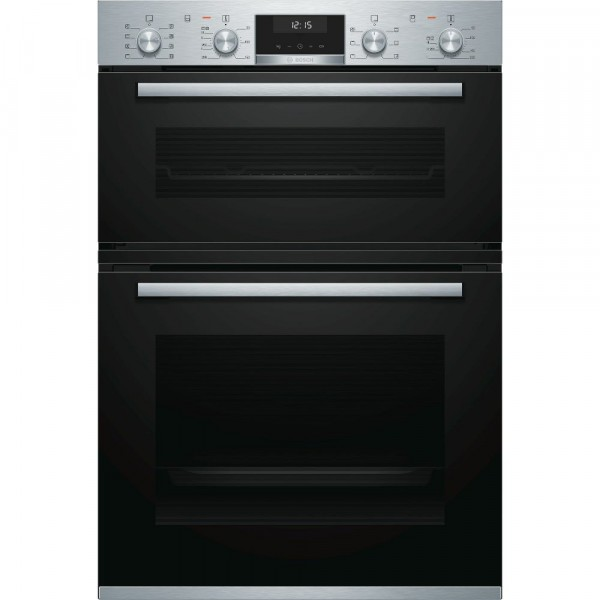 71ltr Built In Multifunction Double Oven In Stainless Steel