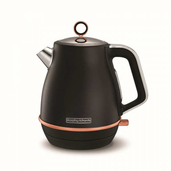 3kw 1.5ltr Kettle In Black And Rose Gold