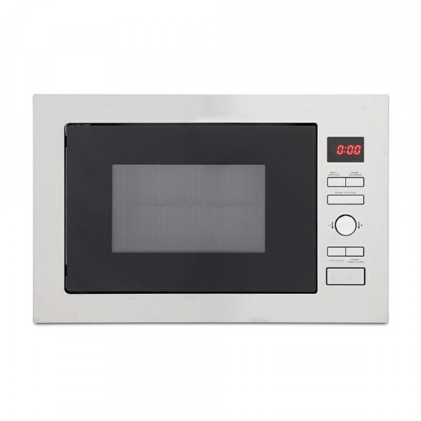 900w Integrated Microwave With Grill In Stainless