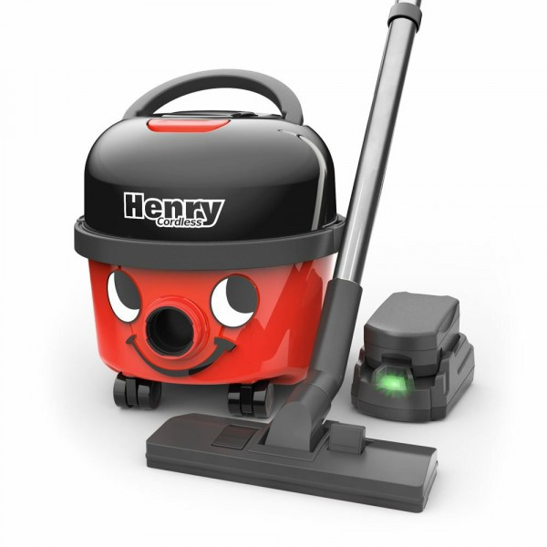Cordless Battery Powered Henry With 1 Battery Pack