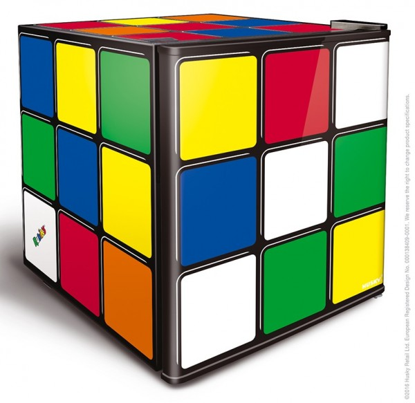 Rubiks Cube Fridge 43ltrs Food and Dairy Safe