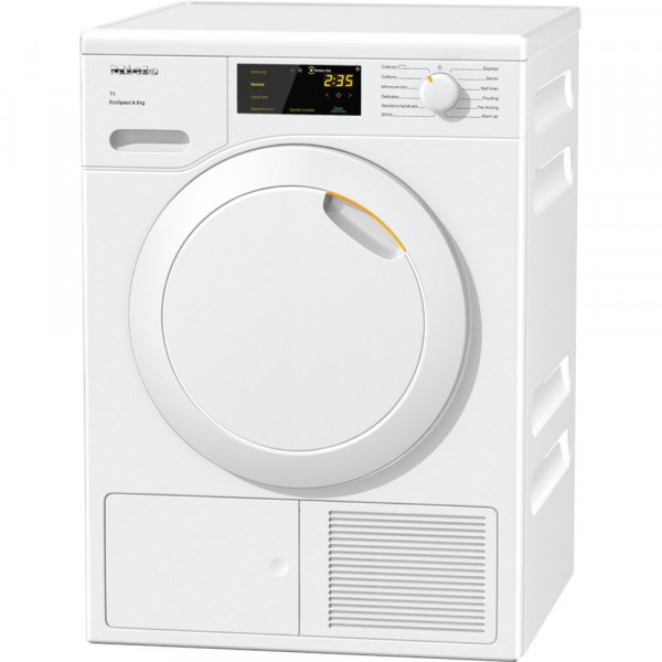 7kg Heat-Pump Condenser Sensor Tumble Dryer in White