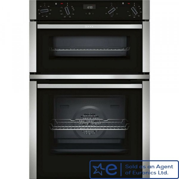 In Column Multifunction Double Oven In Stainless Steel