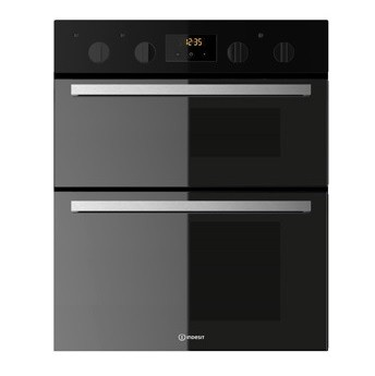 Black Built Under Double Oven