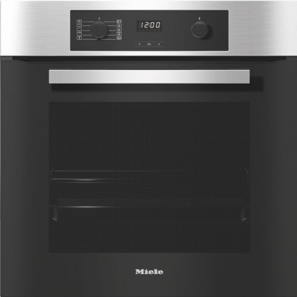 76ltr 7 Function Pyrolytic Single Oven In Clean Steel