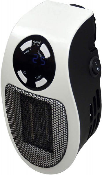 Handy Plug In Heater 500 Watts In White