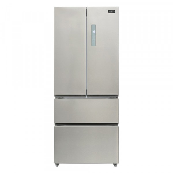 70cm French Door Fridge Freezer In Stainless Steel