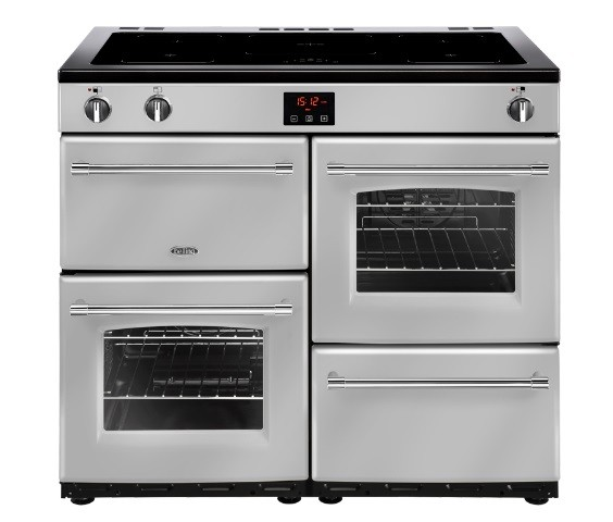 Farmhouse 100cm Induction Range Cooker in Silver